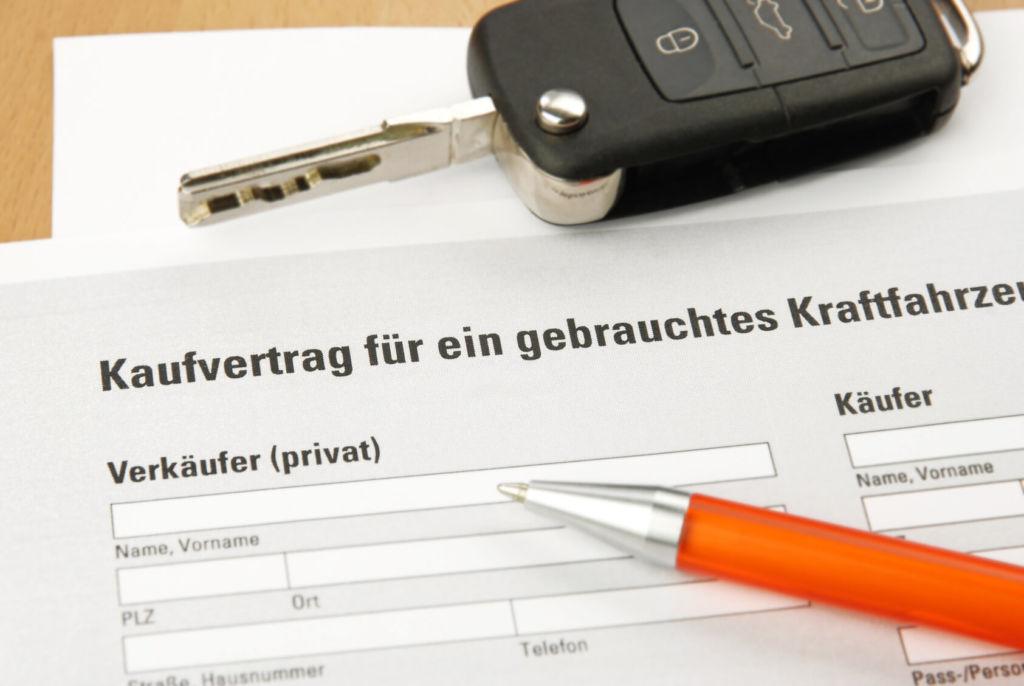 Auto Kaufvertag Privat Tipps Mustervertrag Für Privatpersonen